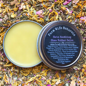 Skin Soothing Shea Butter Salve