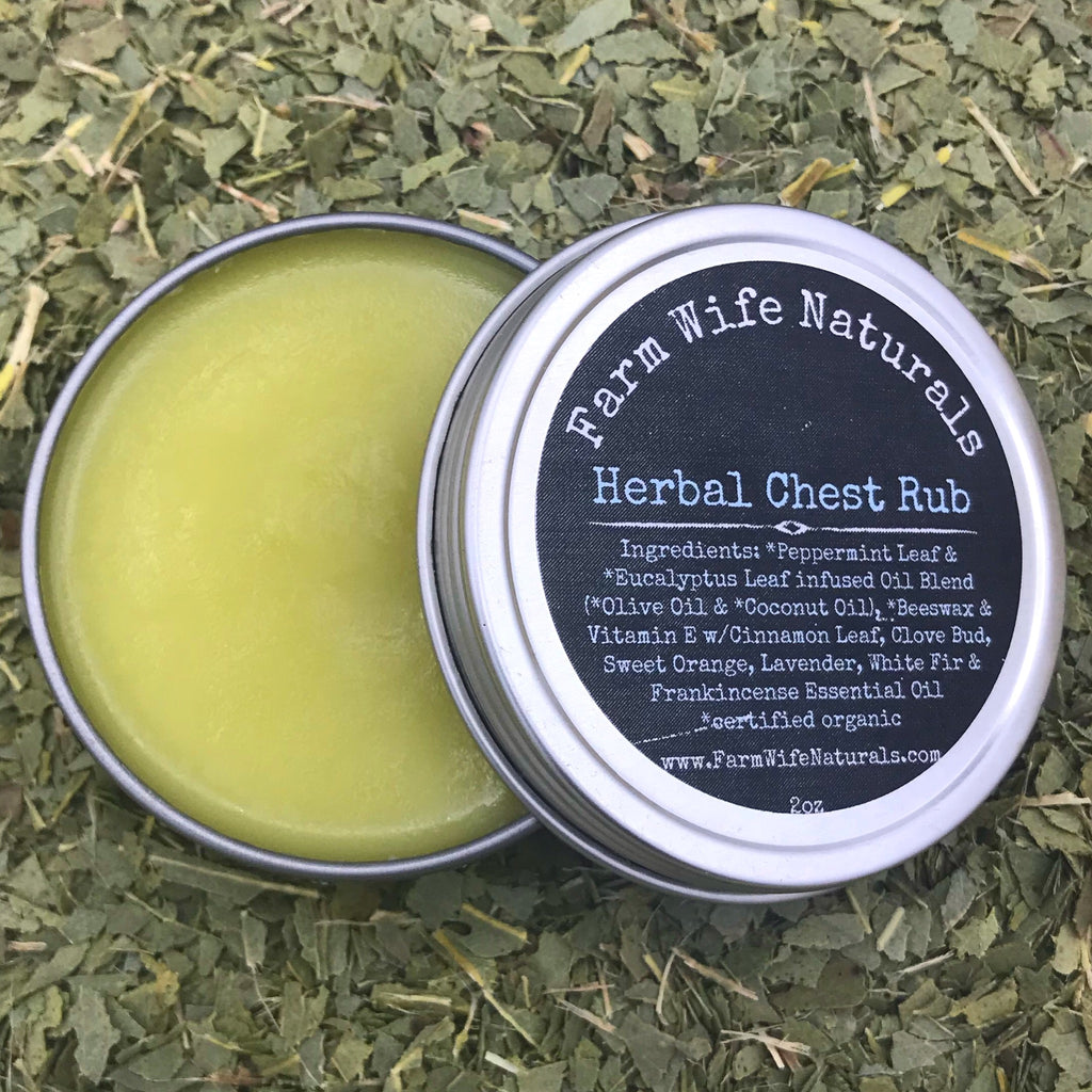 Herbal Chest Rub