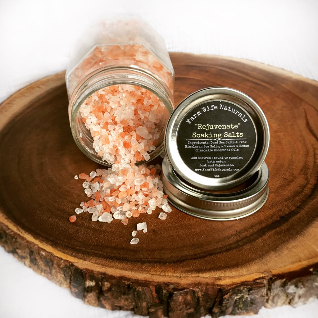 """Rejuvenate"" Soaking Salts"