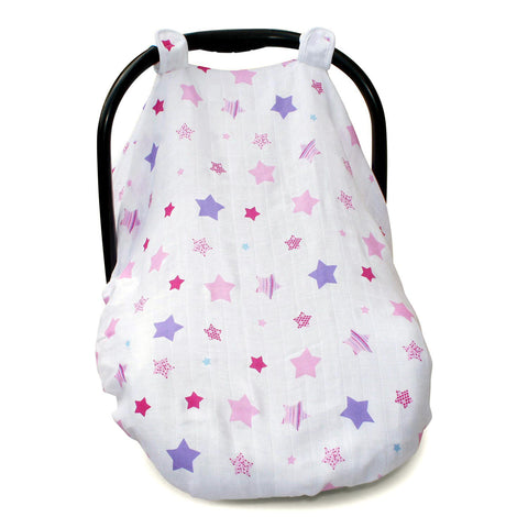 Infant Car Seat Cover - Pink