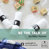 Bamboo Wash Cloths for Baby Shower Gift