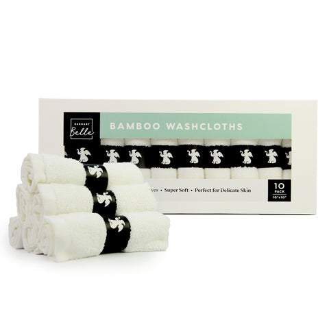 Bamboo Wash Cloths for Infants and Children
