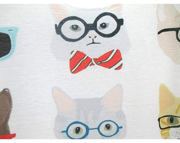 Cute Multiple Cat T-Shirt - Meowaish
