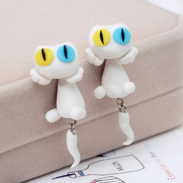Cutie Cat Earrings - Meowaish