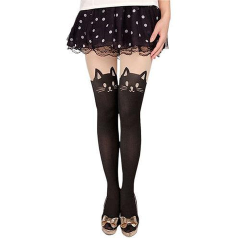 Meow High Tights - Meowaish