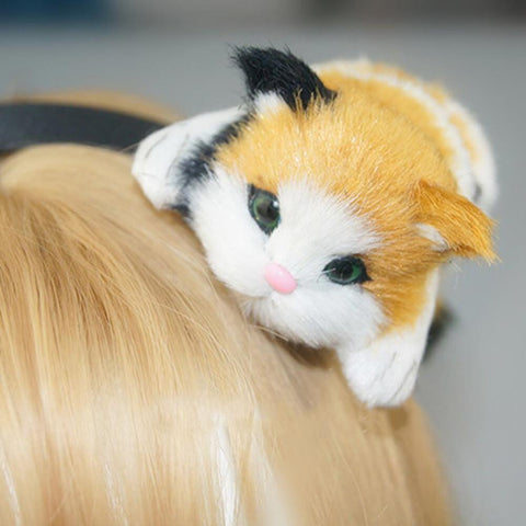Cute Kitty Headband [FREE Shipping Worldwide Today] - Meowaish