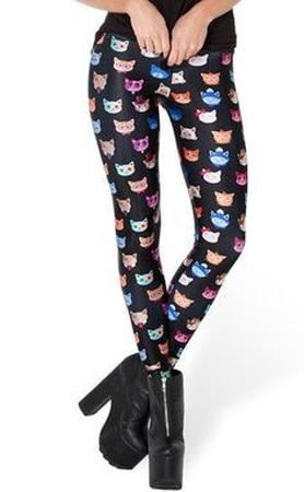 Cool Cat Leggings - Meowaish
