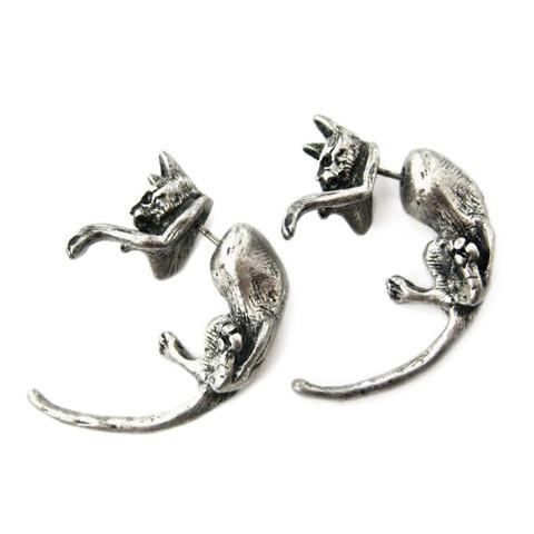 Fashion Dangle Cat Earrings - Meowaish