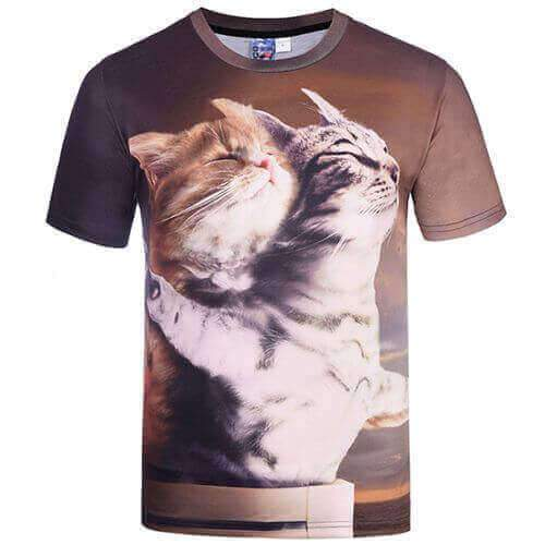 Cat Titanic T-Shirt - Meowaish