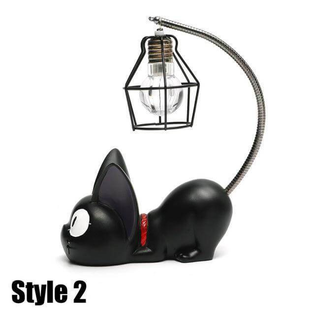 Cute Little Black Cat Night Light [BUY BOTH STYLE FOR $44.95 ONLY] - Meowaish