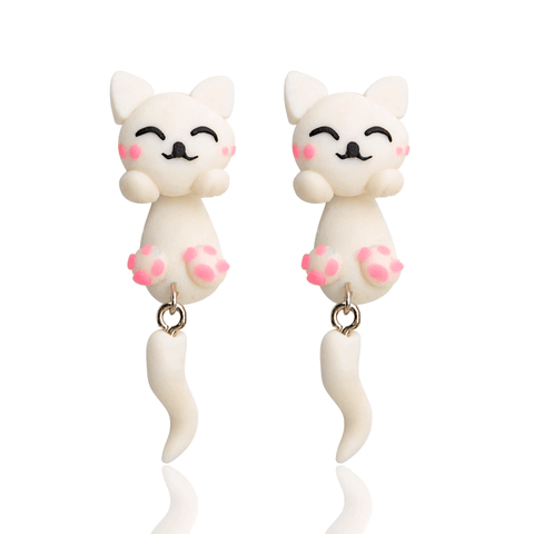 Cutie Kitty Earrings - Meowaish