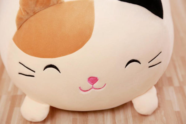 Squishy Chubby Cat Plush Pillow - Meowaish