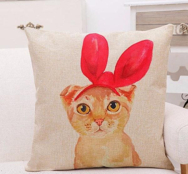 Cute Cat Pillow Case - Meowaish