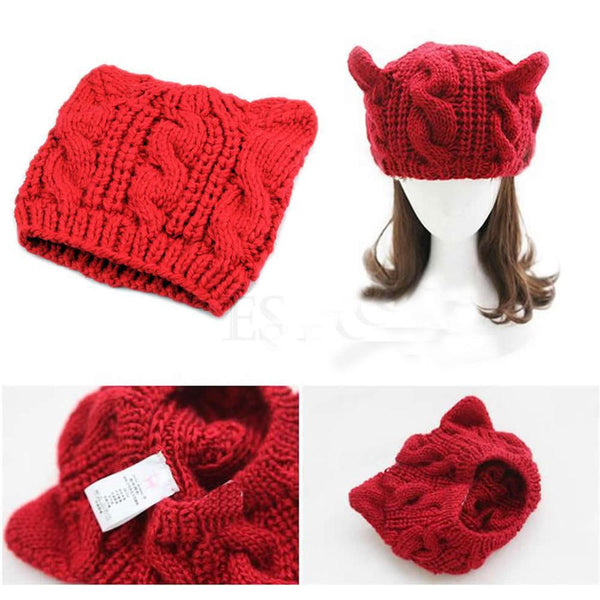 Bella  Winter Wool Hats - Meowaish