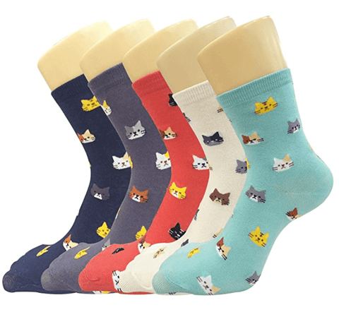 Cute Cat Socks[BUY ALL 5 PAIR FOR $24.95 ONLY TODAY] - Meowaish