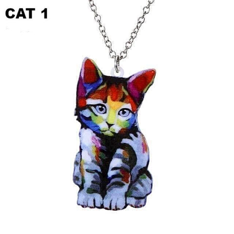 Unique Cat Necklace - Meowaish