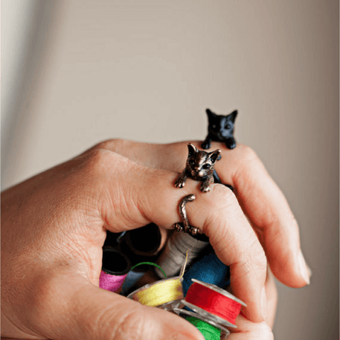 Fashion Cat Ring - Meowaish