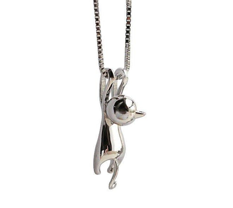 Cute Cat Hanging Necklace - Meowaish