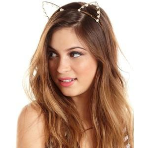 Pearl Cat Ears Headband - Meowaish