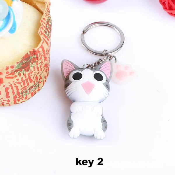 Cat Keychain - Meowaish