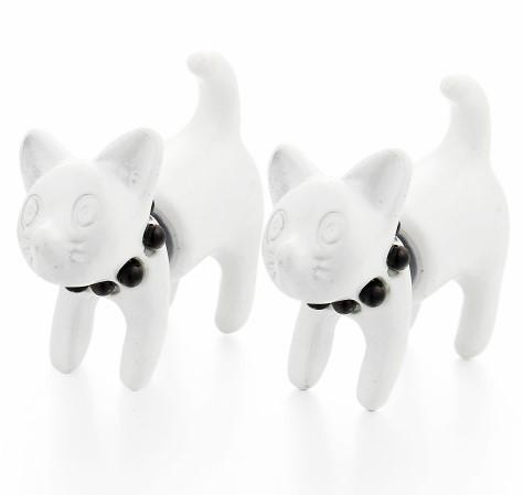 Kitty Duo Purrly Earrings - Meowaish