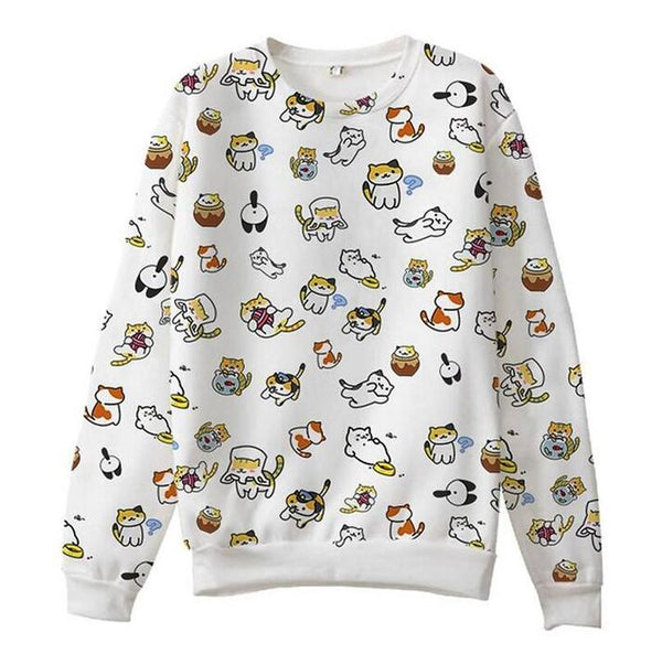 Kitty Lovers Sweatshirt - Meowaish