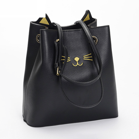 Beau Winking Cat Tote - Meowaish