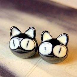 Mooshi Cat Earrings - Meowaish