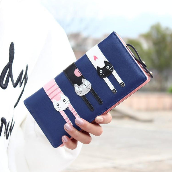 Fashion Cat Wallet - Meowaish