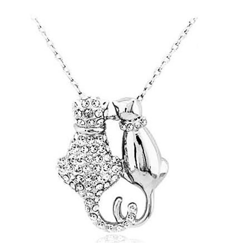 Leo Lucy Duo Necklace - Meowaish