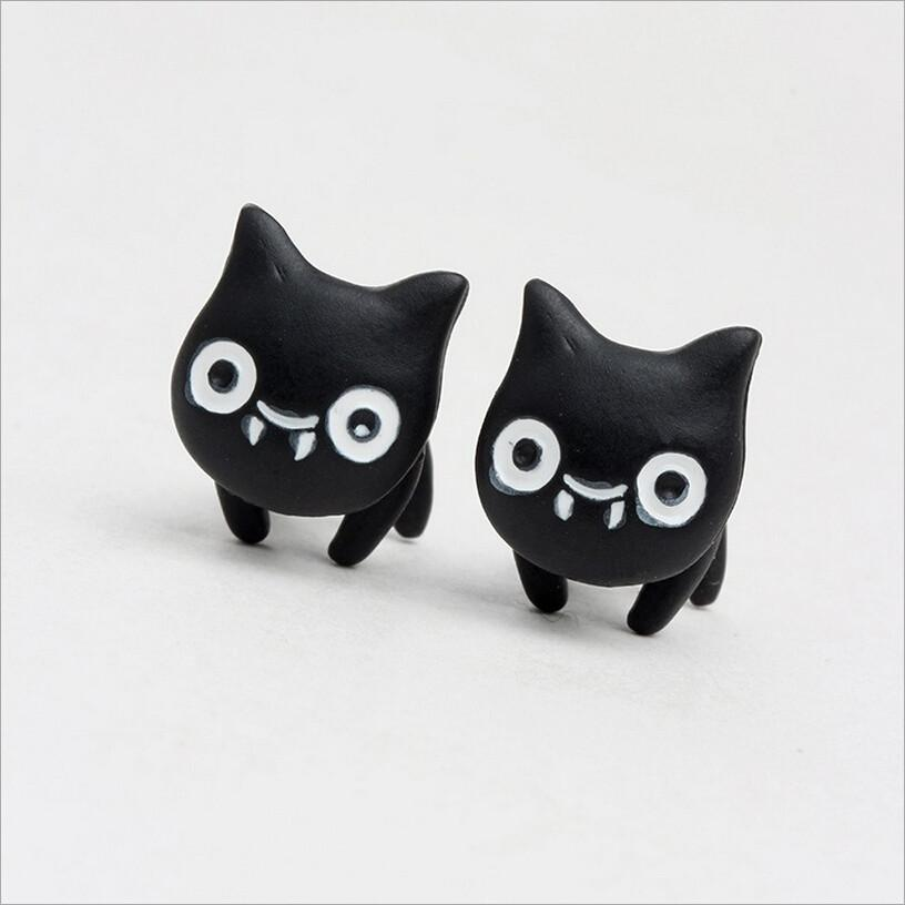 Smirk Cat Earring - Meowaish