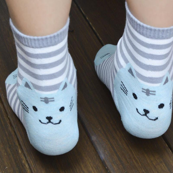 Cute Cat Socks (all 6 Pair) - Meowaish