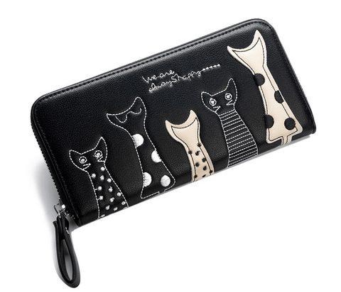 Stylish Cat Wallet - Meowaish