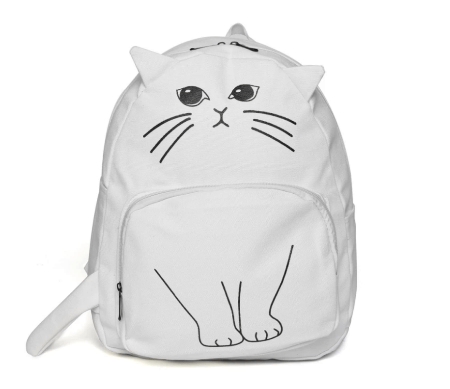 3D Cartoon Cat Backpack [BUY ALL 4 BAG FOR $79.95 TODAY] - Meowaish