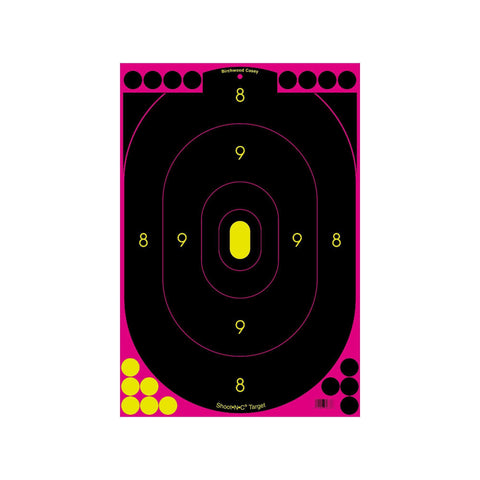 "Birchwood Casey Targets & Throwers Default Title Shoot-N-C Targets: Silhouette - 12"" x 18"", Pink (Per 100)"