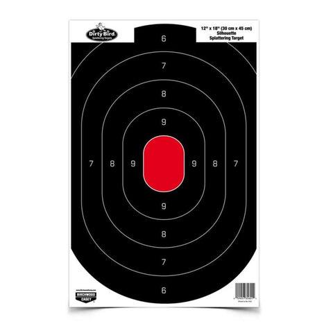 Caldwell Targets & Throwers Default Title Silhouette Center Mass Target - 25 Pack