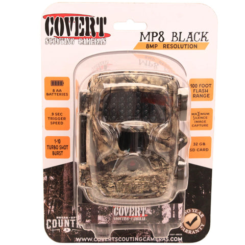 Covert Scouting Cameras Electronics & Instruments Default Title MP8 Black - Mossy Oak Break-Up Country