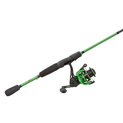 "Lews Fishing Fishing Default Title Mach Spinning Combo - 6.2:1 Gear Ratio, 7+1 Bearings, 6'6"" Length, 1 Piece, Medium Power, Ambidextrous"