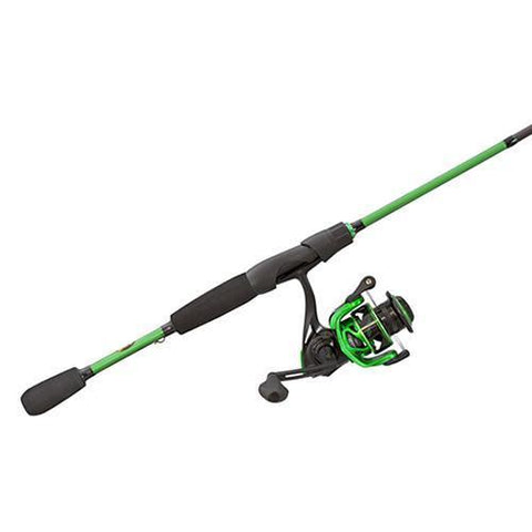 "Lews Fishing Fishing Default Title Mach Spinning Combo - 6.2:1 Gear Ratio, 7+1 Bearings, 6'6"" Length, 2 Piece, Medium Power, Ambidextrous"