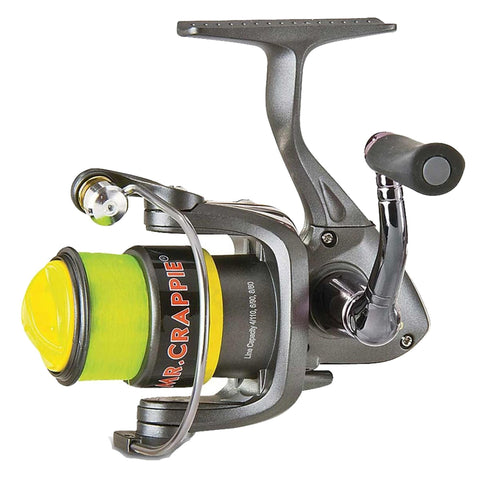 "Lews Fishing Fishing Default Title Mr. Crappie Slab Shaker Spinning Reel - 5.2:1 Gear Ratio, 23"" Retrieve Rate, 70-6 Line Capacity"