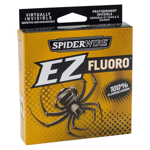 "Spiderwire Fishing Default Title EZ Fluorocarbon Line Spool - 200 Yards, 0.013"" Diameter, 12 lbs Break Strength, Clear"