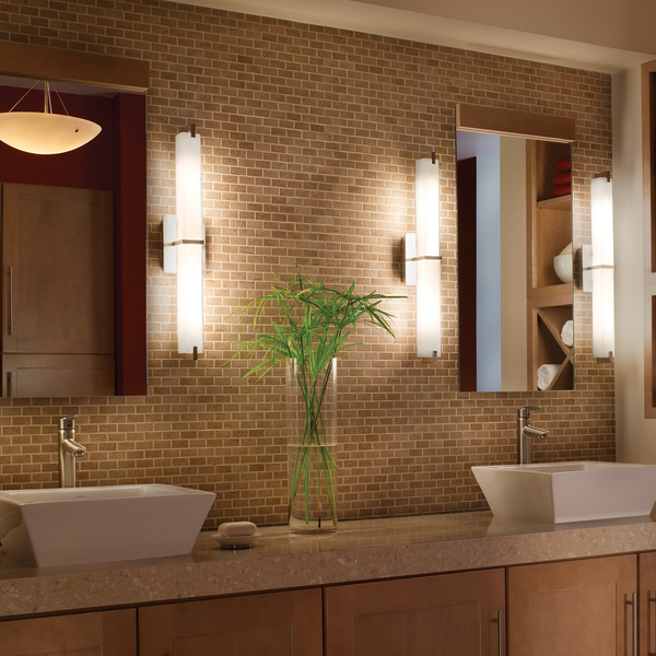 Side sconces are great for providing light