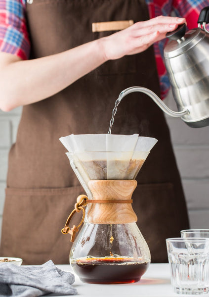 You can now mimic how the experts pour water over their coffee.