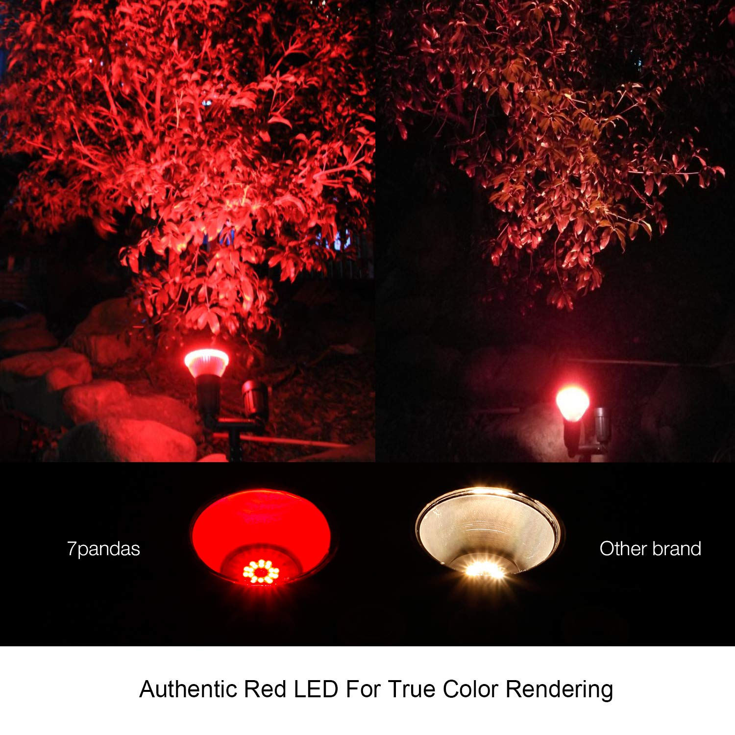 Outdoor 14w Led Par38 Flood Light Bulb Red Light 7pandas Usa Lighting Store