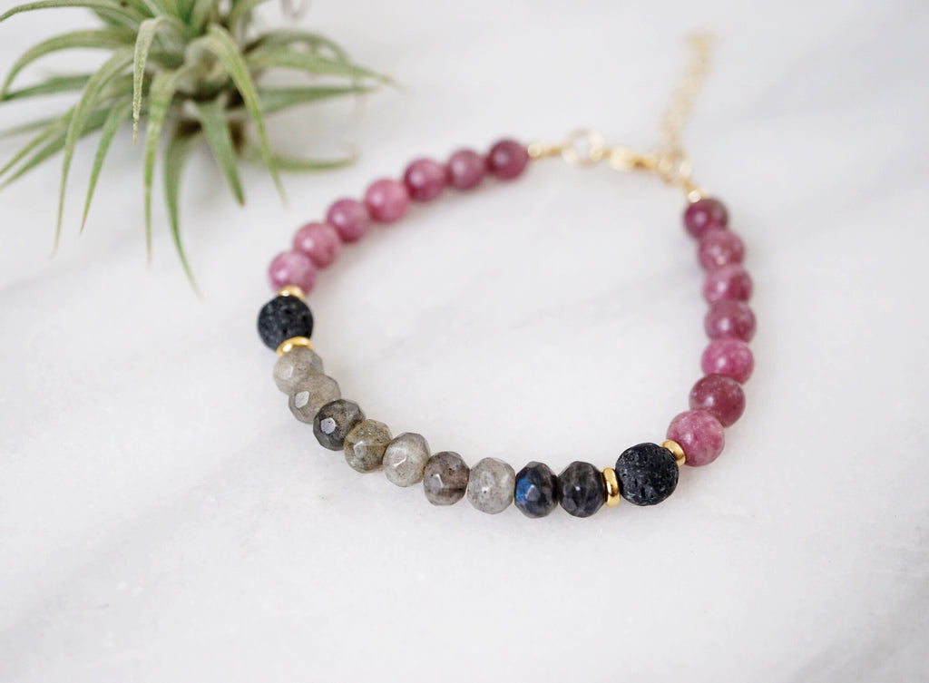 LUX Lava Bracelet ▾ Limited Edition (008) - Lava Essential Oils