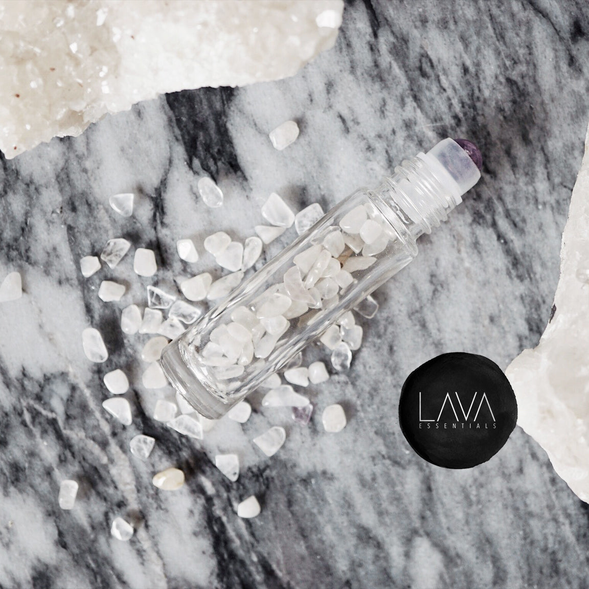 Snow White Quartz - Lava Essential Oils