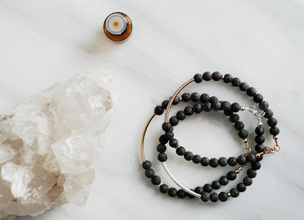 stylish essential oil diffuser jewelry and lava bar bracelets