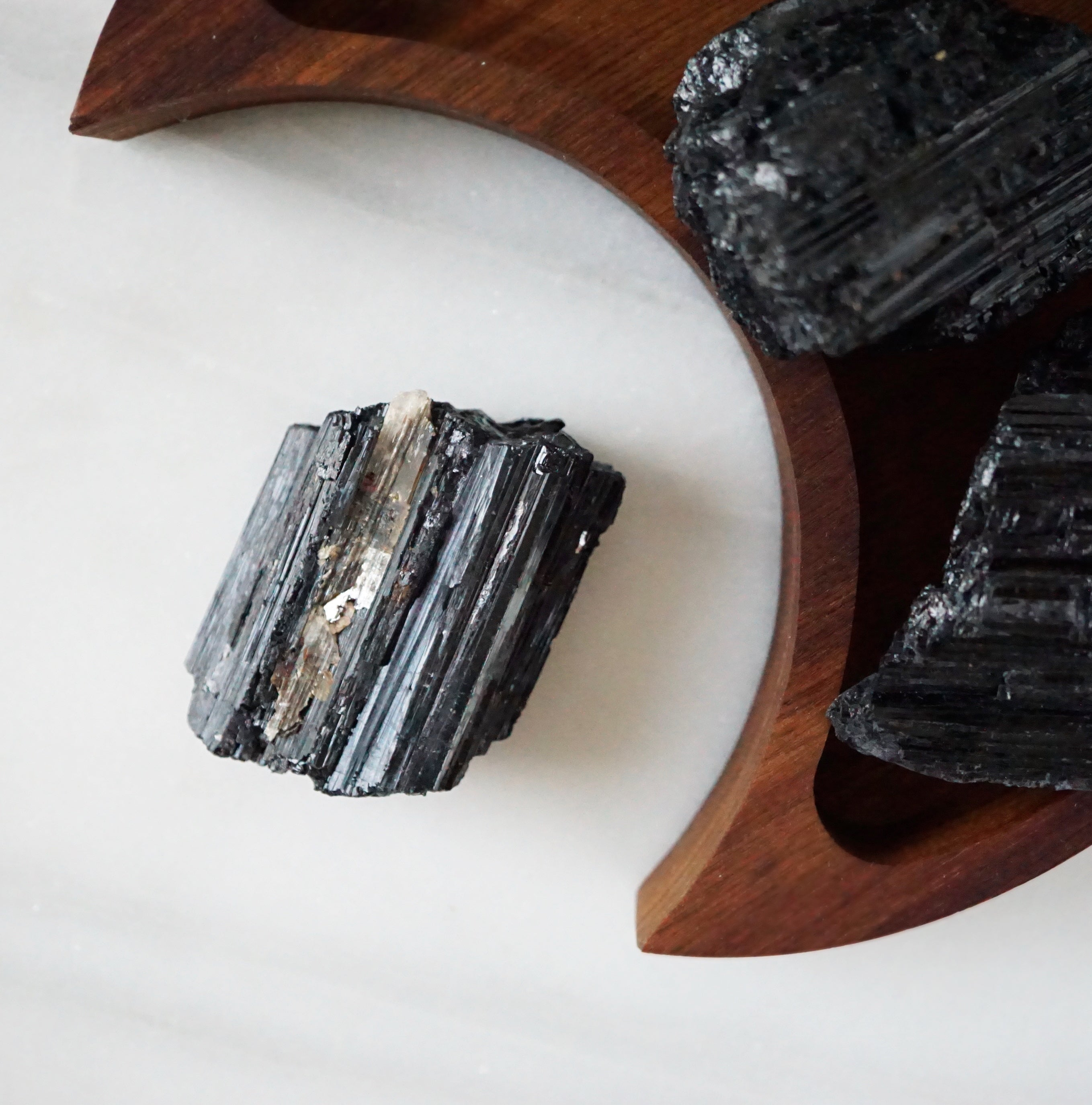 EMF Collection ☼ LARGER Black Tourmaline Stone