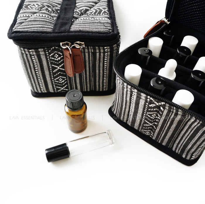 Roller Bottle Roll Top Dropper Essential Oil Bottle Bag Case Carrier