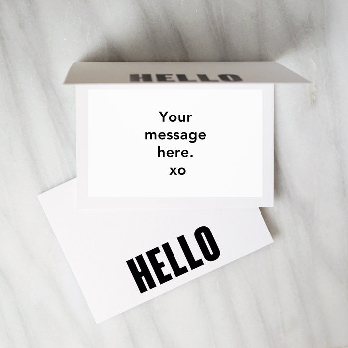 Personal Message Card